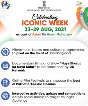 Ministry of Information & Broadcasting Celebrate Iconic Week